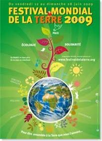 Affiche 350x550 Festival de la Terre 2009