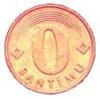 0 centimes